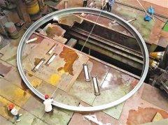 中国造出直径10米级重型火箭用铝环 刷新世界纪录
