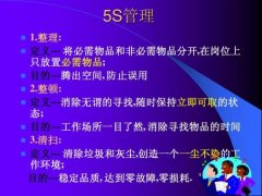 5S的定义和特色