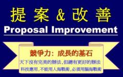 改善提案制度的建立塑造积极向上的企业文化